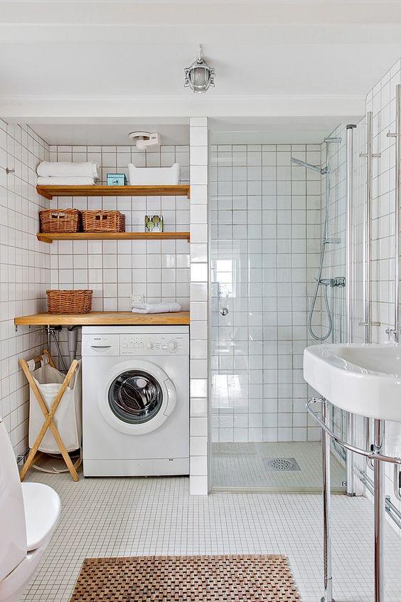 lavanderia a mezza altezza