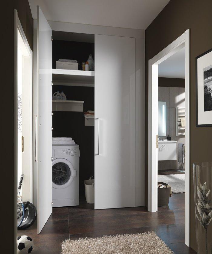 lavanderia corridoio