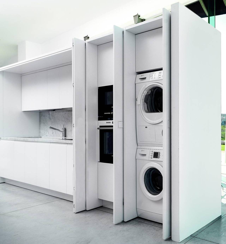 ricavare la lavanderia in cucina