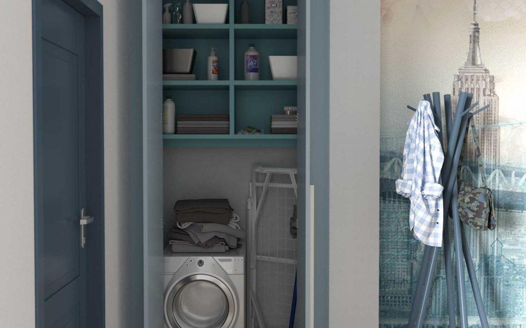 Come ricavare la lavanderia in casa