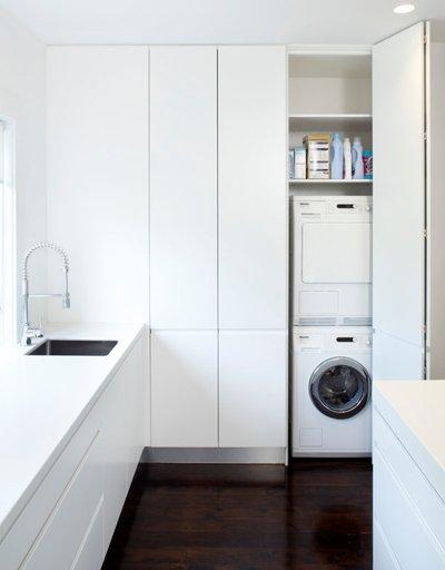 spazio lavanderia cucina